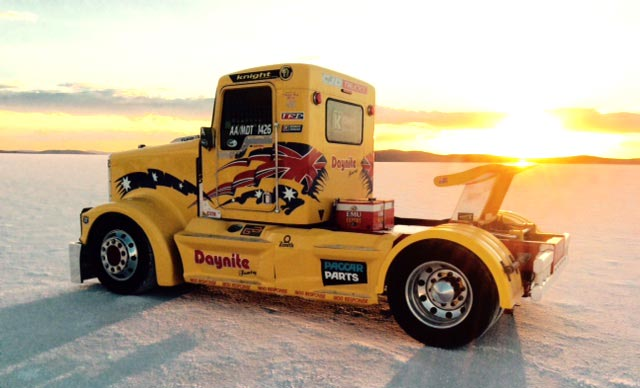 Turbo Care Sponsor Rob Waters C13 Super-Truck
