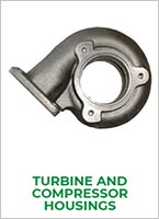 Jrone turbocharger systems turbine and compressor housing