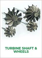 Jrone turbocharger systems turbine shaft wheels