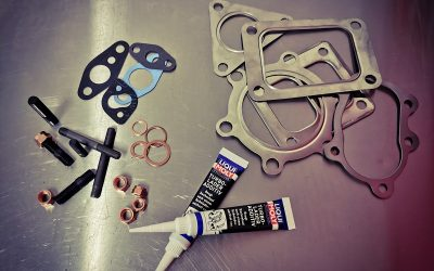 Studs, Nuts, Gaskets and Turbocharger Lube Now Available!